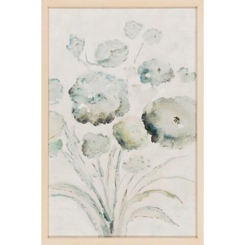 "Cumuloflora Contemporary Floral 23"" x 35"" Paper Wall Art"
