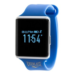 Everlast 10 Bluetooth Blood Pressure & Heart Rate Fitness Tracker - Black (Option: Blue - Blue)