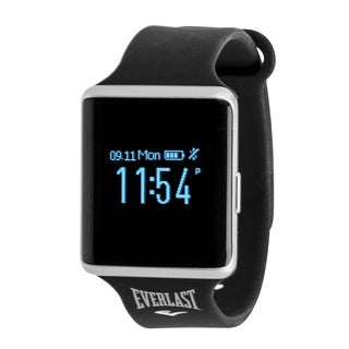 Everlast 10 Bluetooth Blood Pressure & Heart Rate Fitness Tracker - Black
