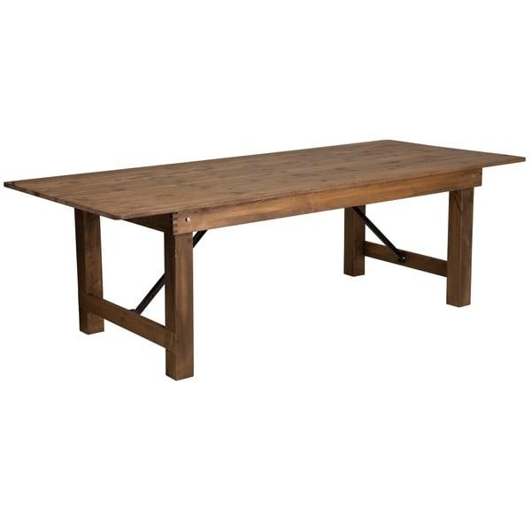 "8'x40"" Folding Farm Table - 40""W x 96""D x 30""H"