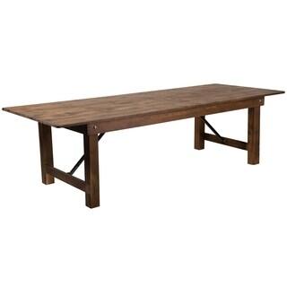 "9'x40"" Folding Farm Table"