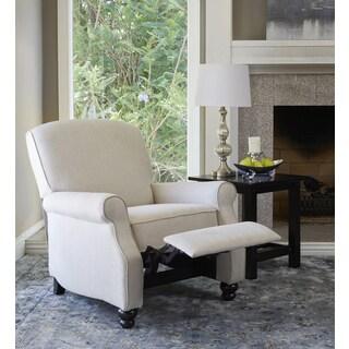 ProLounger Tan Herringbone Push-back Recliner Chair