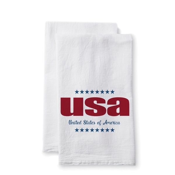 Uplifting Linens 'USA' Towels (Set of 2)