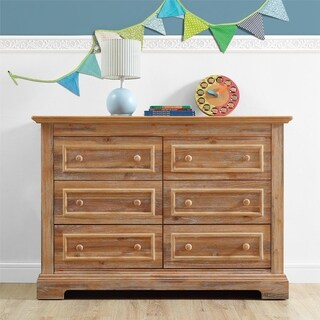 Avenue Greene Ollie Rustic 6-Drawer Dresser