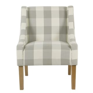 Link to HomePop Modern Swoop Accent Chair Similar Items in Dining Room & Bar Furniture