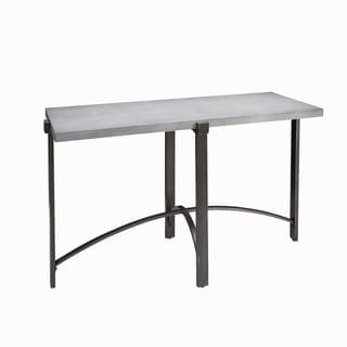 Lewis Console Table with Concrete Finish Top