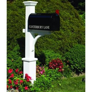 Lazy Hill Farm Designs Canterbury Mailbox Post (As Is Item)