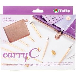 Carry C Interchangeable Bamboo Knitting Needle Set