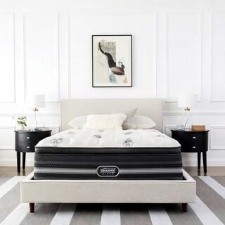 Beautyrest Black Sonya 18-inch Firm Pillow Top Queen-size Mattress + Bonus Sleep Tracker