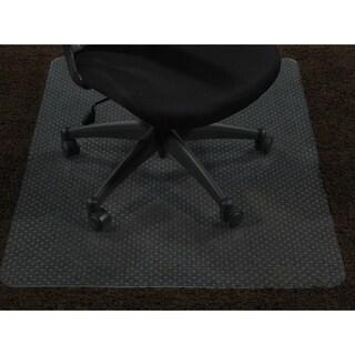 "Ottomanson Carpet Chair Mat Clear Plastic Mat Protector, (36"" x 48"")"