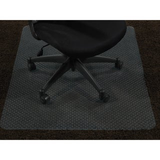 "Ottomanson Carpet Chair Mat Clear Plastic Mat Protector, (30"" x 48"")"