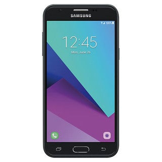 Samsung Galaxy J3 2017 / Express Prime 2 16GB Unlocked GSM 5-inch Android 7.0 Smartphone - Dark Gray