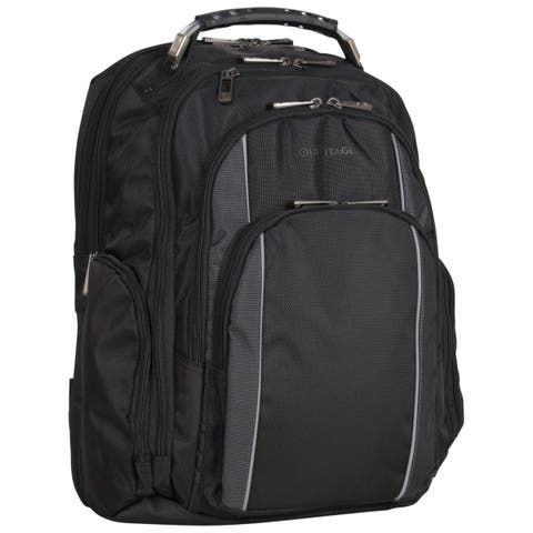 Heritage 'Uptown Urbanite' Dual Compartment TSA Checkpoint Friendly 17-inch Laptop Business Backpack