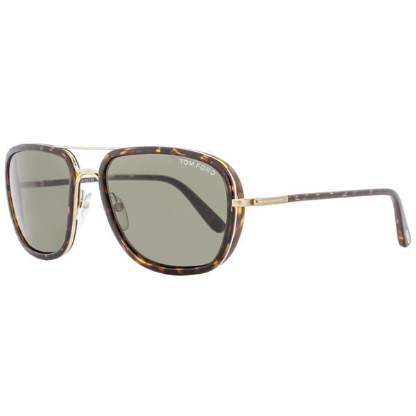 a88476bb4c82 Shop Tom Ford TF340 Riccardo 28N Women s Havana Gold Green Lens Sunglasses  - Free Shipping Today - Overstock - 18153212