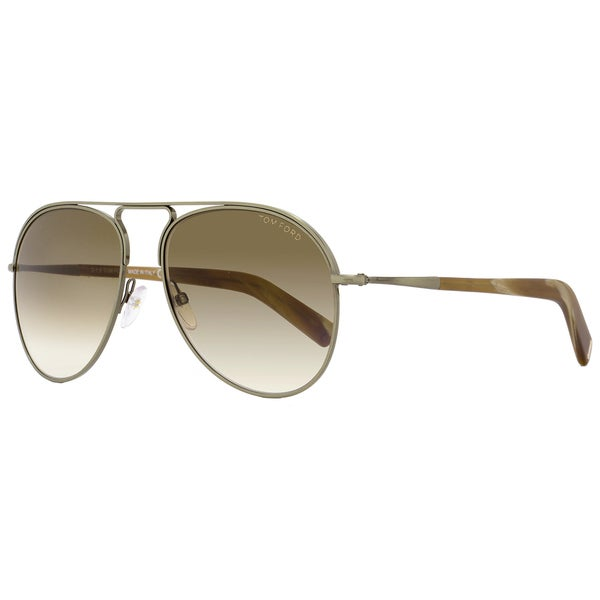 e926dae29fd51 Shop Tom Ford TF448 Cody 33F Women s Antique Gold Brown Brown Gradient Lens  Sunglasses - Free Shipping Today - Overstock - 18153234