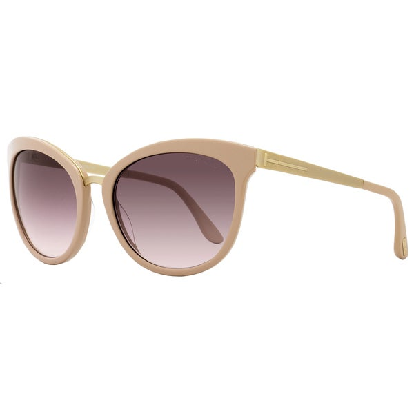 46afdecb85 Shop Tom Ford TF461 Emma 74F Women s Rose Gold Rose Brown Gradient Lens  Sunglasses - Free Shipping Today - Overstock.com - 18153237