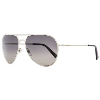 Montblanc MB546S 16B Men's Palladium/Black/Gray Gradient Lens Sunglasses