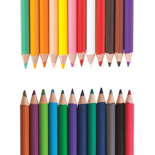 Paper Mate Double-Ended Colored Pencils 12/Pkg