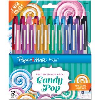 Paper Mate Candy Pop Flair Ultra Fine Felt Top Pens 32/Pkg