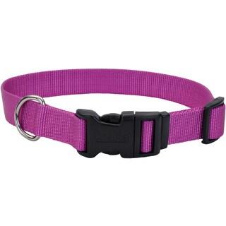 "Adjustable Nylon 3/8"" Dog Collar W/Tuff Buckle"