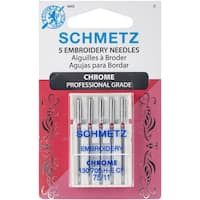 Chrome Embroidery Machine Needles