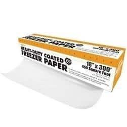 "Weston Heavy Duty Coated Freezer Paper - 15"" x 150' (in dispenser box) - White"