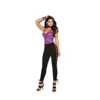 Elegant Moments tribal print zip front bustier (4 options available)