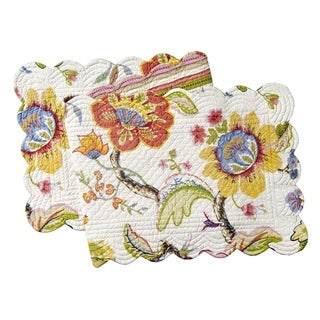 Laney Cotton Quilted Reversible Table Runner 14x51