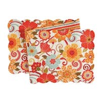 Giselle Cotton Quilted Reversible Table Runner