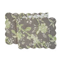 Annabelle Cotton Quilted Reversible Table Runner 14x51