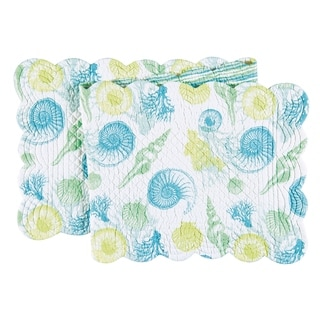 St. Augustine Cotton Quilted Reversible Table Runner 14x51