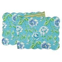 Athena Cotton Quilted Reversible Table Runner