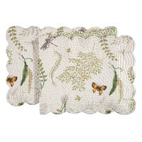 Althea Cotton Quilted Reversible Table Runner 14x51