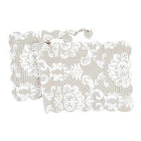 Providence Cotton Quilted Reversible Table Runner 14x51