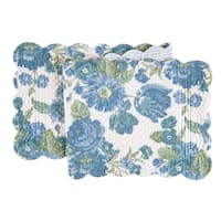 Laurel Cotton Quilted Reversible Table Runner 14x51