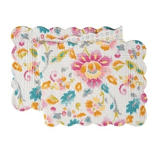 Sasha Cotton Quilted Reversible Table Runner 14x51