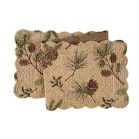 Woodland Retreat Quilted Table Runner