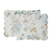 Jesamine Cotton Quilted Reversible Table Runner 14x51