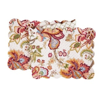 Bethany Cotton Quilted Reversible Table Runner 14x51