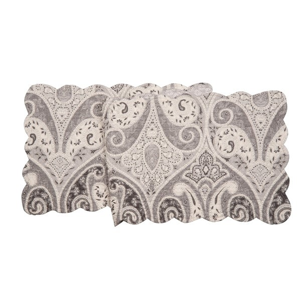 Nazima Gray Table Runner