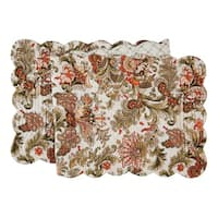 Jocelyn Cotton Quilted Reversible Table Runner 14x51