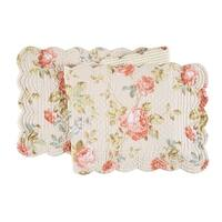Whitney Cotton Quilted Reversible Table Runner 14x51