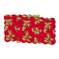 Holly Red Runner Small 14x51