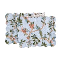 Marianne Cotton Quilted Reversible Table Runner 14x51
