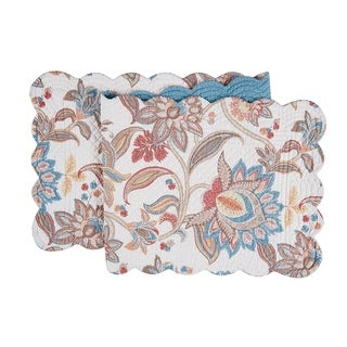 Lucianna Cotton Quilted Reversible Table Runner 14x51