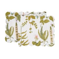 Anessa Cotton Quilted Reversible Table Runner 14x51