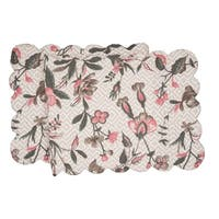 Blair Garden Cotton Quilted Reversible Table Runner 14x51