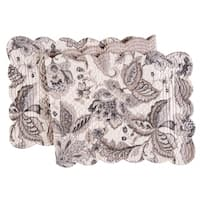 Aurelia Cotton Quilted Reversible Table Runner 14x51