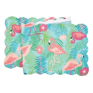 Adelaide Flamingo Tropical Quilted Table Runner