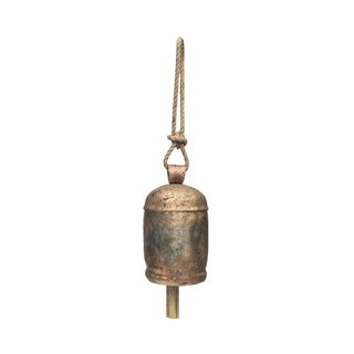 Handmade Copper Bell XL - 9.5 inch (India)